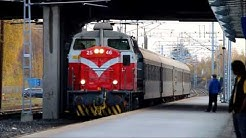 H 445 (Regional Train) arrives to Vaasa
