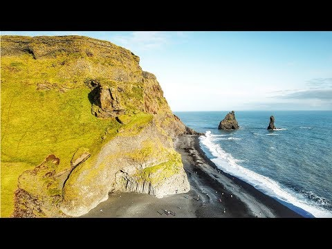 Iceland southern coast route