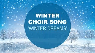 """Winter Choir Song - """"Winter Dreams"""" by Pinkzebra feat. iSing Silicon Valley Girlchoir"""