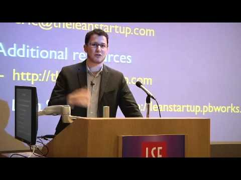 LSE Events | Eric Ries | The Lean Startup