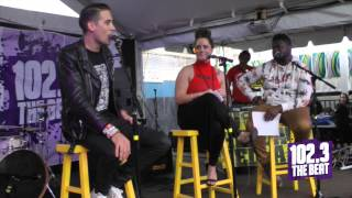 Red Carpet Rollout Interview G EAZY