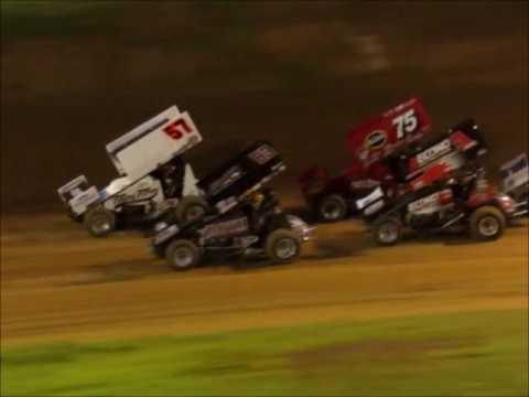 Sprintcars SCCT @ Placerville Speedway 4 15 17 part 1