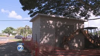 'Unsightly' structure in Kailua protects important water pressure valve