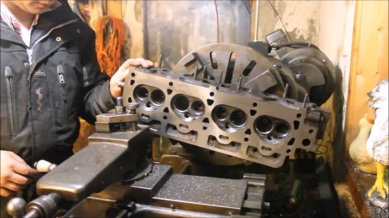 Shaved head engine