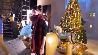 Дима Билан на съемках клипа для шоу на льду