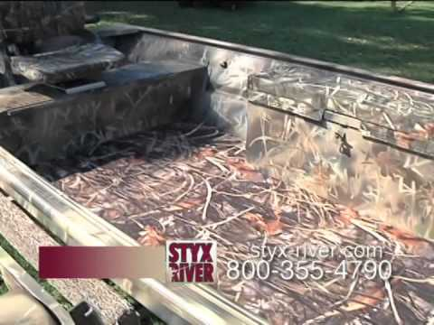 Styx River Camo Boat Project Youtube