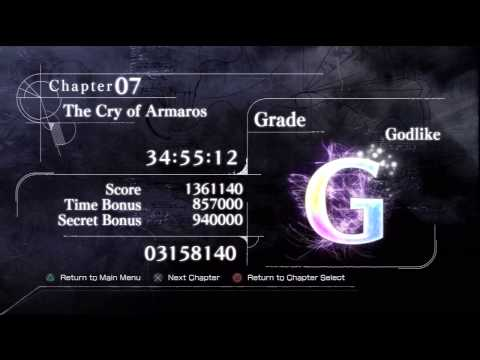 El Shaddai Ascension Of The Metatron[PS3] Platinum Trophy#98(Lord Of The Metatron)RARE