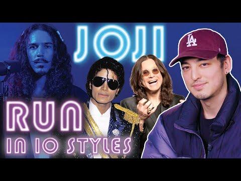 Joji - Run in 10 Styles