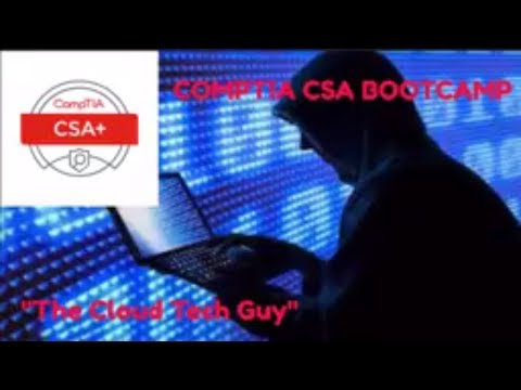 CompTIA Cyber Security Analyst (CSO-001) Exam Bootcamp! Get Certified