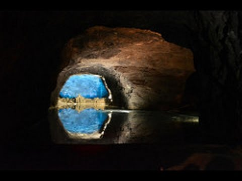Europe's Largest Underground Lake and Secret German WWII Airplane  Factory-Seegrotte, Austria