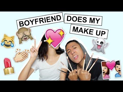 Boyfriend Does My Make Up | Rei Germar ❤️️