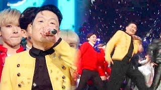 """Inkigayo WIN"" popular song released 1st PSY (PSY) - DADDY (Daddy) 20151220"