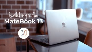 Mac user switches to the Huawei Matebook 13