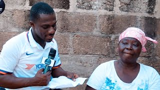My Son Goes To Toilet Through His Stomach, He's Losing It - Old Woman Cries