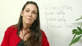 Example of a Welcome Speech