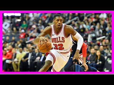 Kris Dunn's faceplant leaves his teeth intact, but removes chunk of the court
