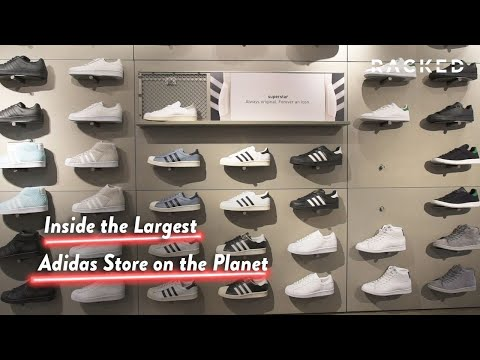 All Day I Dream About the Largest Adidas Store in the World | Just Browsing | Racked