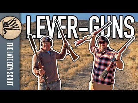Four Iconic Lever-Action Rifles
