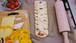 Pizza warkocz czy pizza klasyczna? Obie pyszne i jak z pizzerii :) Thermomix