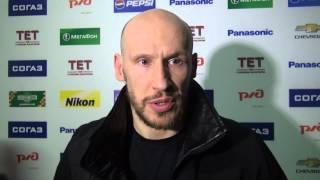 Илья Горохов после матча