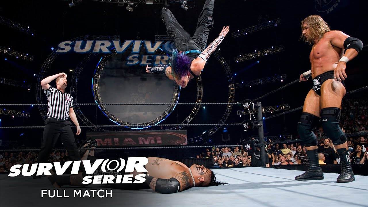 Download FULL MATCH - Team Triple H vs. Team Umaga – 4-on-5 Handicap Survivor Series Elimination Match
