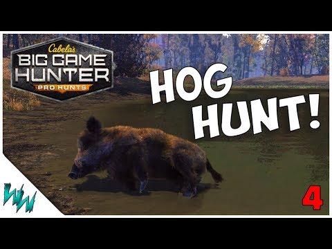 BOAR HUNT! - Cabela's Big Game Hunter: Pro Hunts