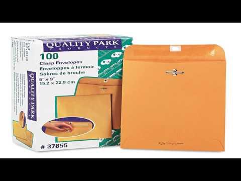 Quality Park Clasp Envelopes 10x13 Box of 100 37897
