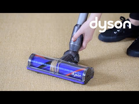 Dyson V8 cord-free vacuums - Resetting the Direct Drive cleaner head (IN)
