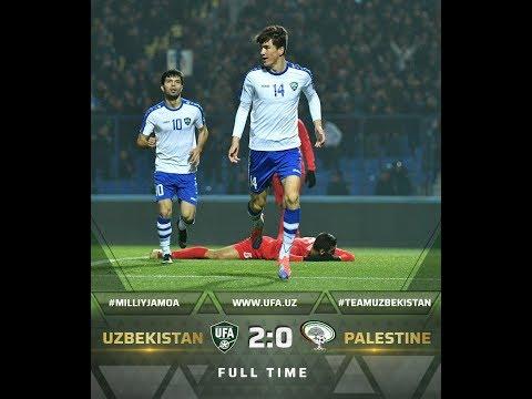 Шомуродов точно выведет Узбекистан на ЧМ 2022. Узбекистан 2-0 Палестина