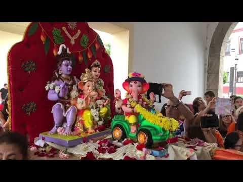 La Comunidad Hindú evita visitar a la Patrona con Ganesh para no molestar al Obispado