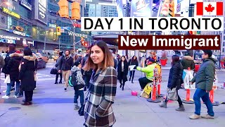 Gambar cover Day 1 in Toronto, Canada | New Immigrant | AirBnB, Banks, Sim cards