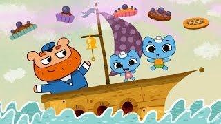 Мультфильмы для Малышей - Котики, вперед! - Прыг-да-скок, черничный пирог (1 серия) thumbnail