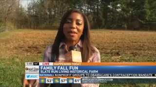 Slate Run Living Historical Farm on Good Day Columbus