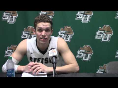Grant Lozoya - Stetson Basketball - 02.22.16