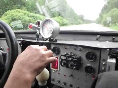 Переключение передач без сброса газа Боевом корче ВАЗ
