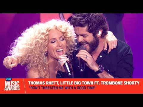 Michael J. - Thomas Rhett Opens up the CMT Awards with Little Big Town! Did you See IT?