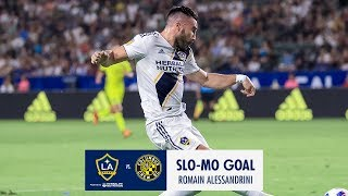 SLO-MO GOAL: Romain Alessandrini puts the exclamation point on the win with a rocket shot