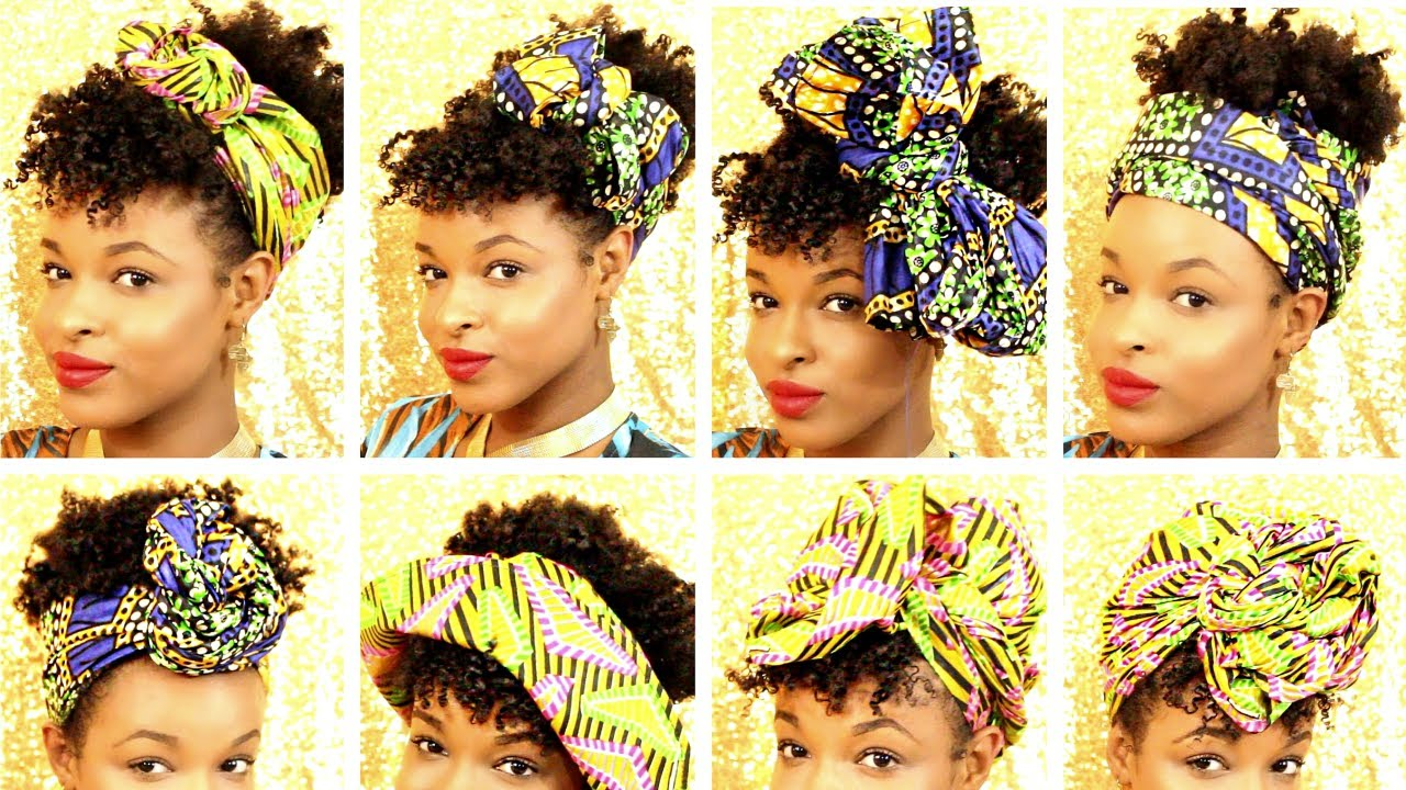 12 Ways To Style Head Wraps And Hats On Short Natural Hair How To