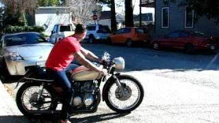 1972 Honda CB500 Four Cafe Racer For Sale