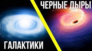 Что появилось раньше : Галактики или Черные дыры?