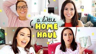 VLOG : A Little Home Haul