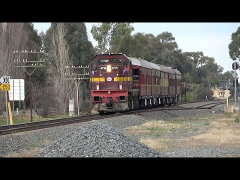 4K Preserved NSW Passenger Train - Tim Fischer's Riverina Spirit - Cancer Fundraiser Train