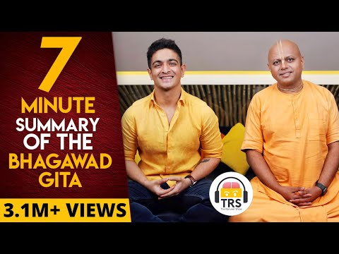 Monk Explains Bhagawad Gita In 7 Minutes