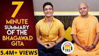 Monk Explains Bhagawad Gita In 7 Minutes ft. @Gaur Gopal Das & @BeerBiceps   The Ranveer Show