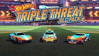 Rocket League Hot Wheels: Triple Threat DLC Trailer