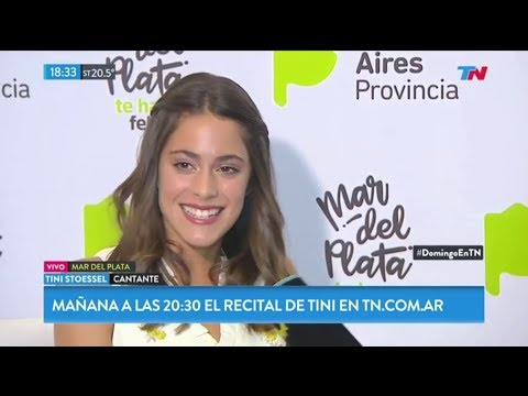 Tini Stoessel, entrevista desde Mar del Plata | TN