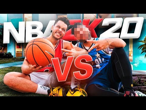 YOUTUBER VIENE A MI CASA A ENSEÑARME A JUGAR NBA 2K20 - TheGrefg