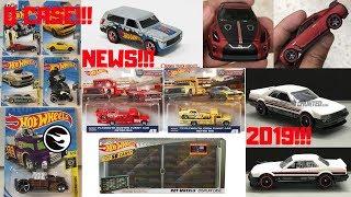 Hot Wheels 2018 Q Case Cars, Car Culture, Nissan GT-R, 2019 Cars,... Hot Wheels News!!!