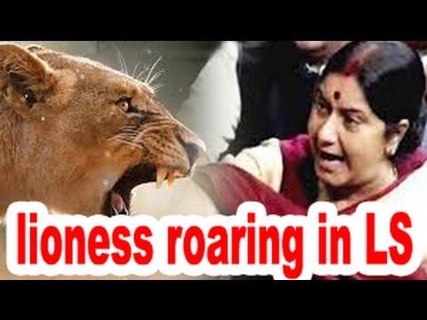 Historic Speech of Sushma Swaraj shut Congress Mouth | Hats off !!!!