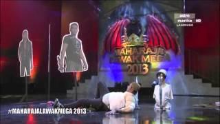 Maharaja Lawak Mega 2013 - Minggu 4 - Persembahan Nabil